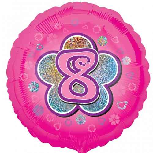 8th Birthday balloons