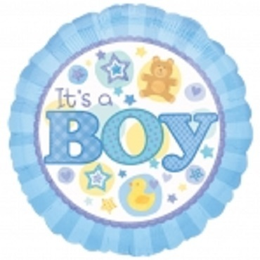 New Baby Boy balloons