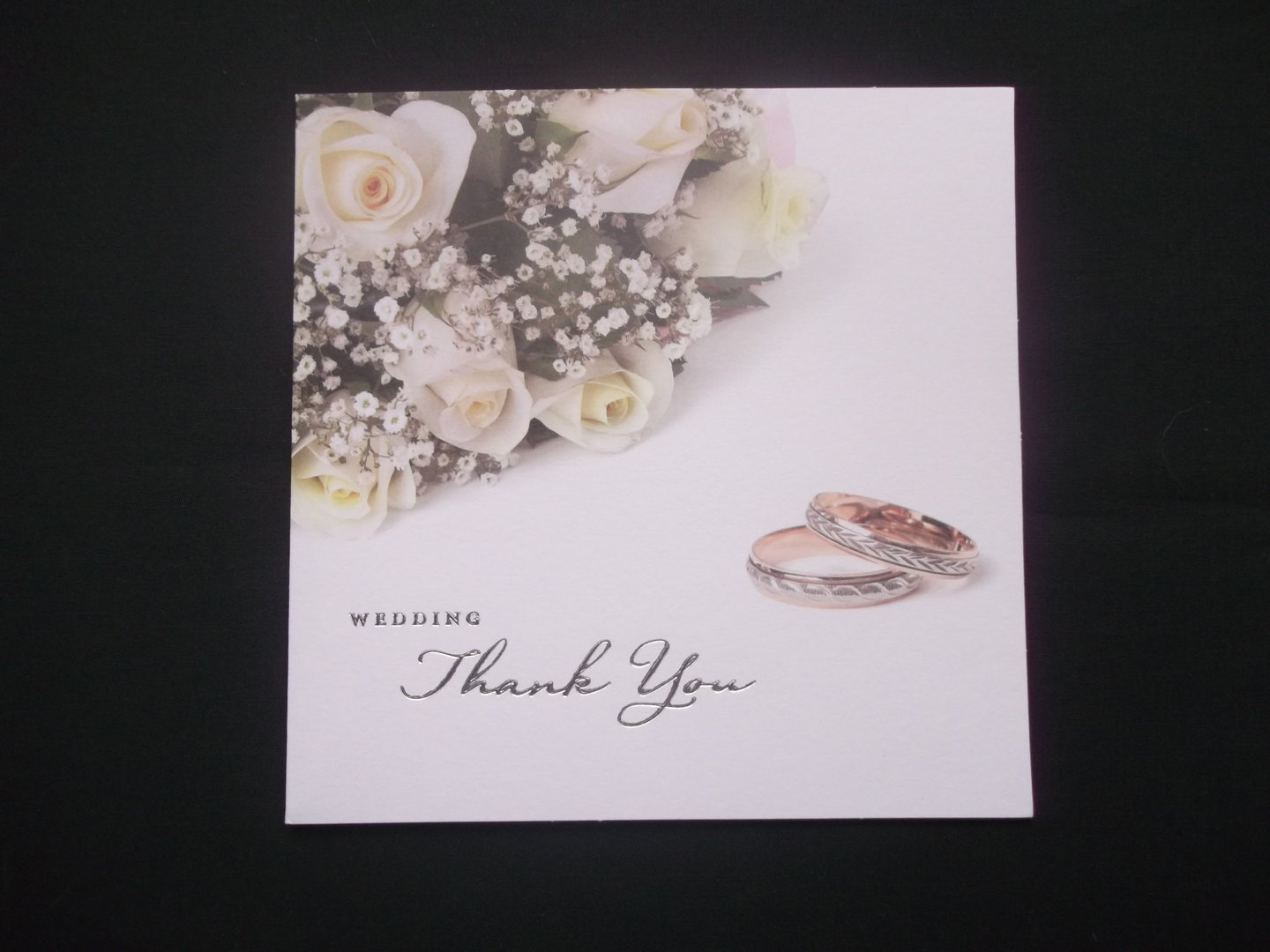 Thank You Card Wedding Gift
