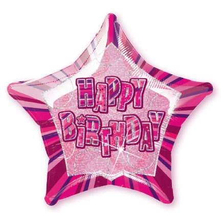 Pink Glitz Party Pack Foil Balloon